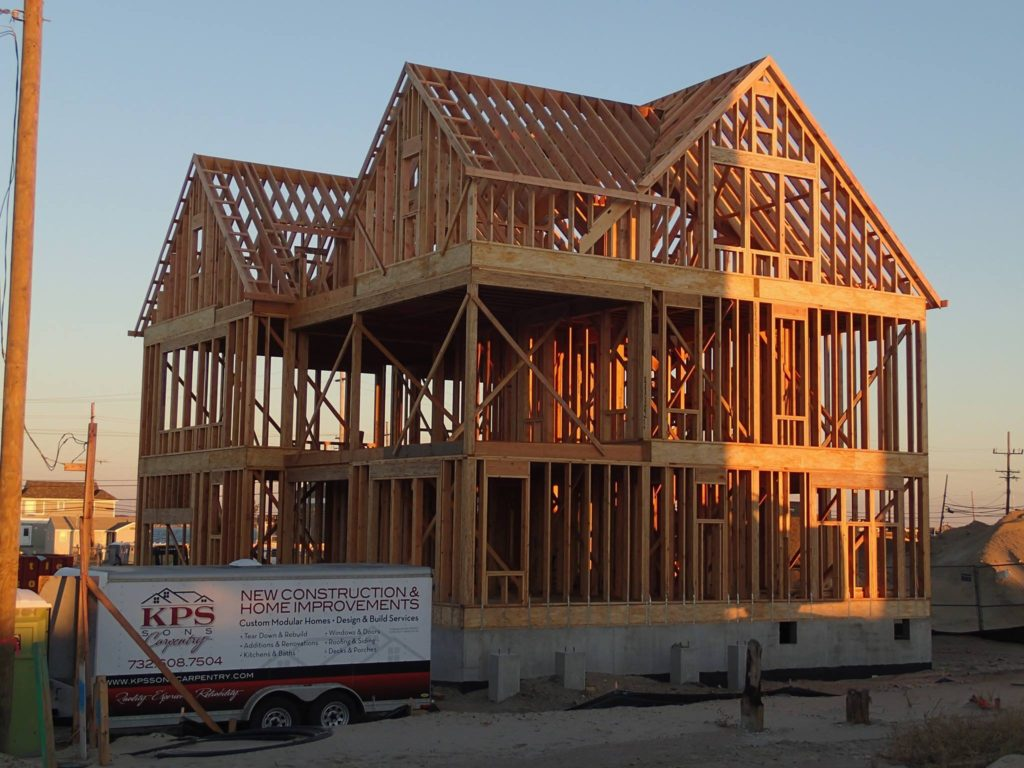 Traditional Built New Home Services We Provide: